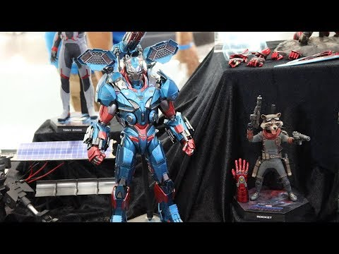 First Look! - Hot Toys 1/6th Scale Iron Patriot (War Machine) & Rocket !
