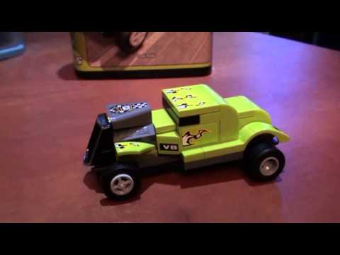 Vidéo LEGO Racers 8302 : Le turbo vert