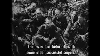 Учебное пособие снайпера.(фильм времён второй мировой войны)