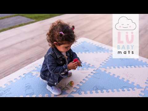Bienvenida Lu - Suelo acolchado para bebés