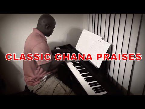 kept by the power of God - Winneba youth choir version (Ghana Praise Piano)