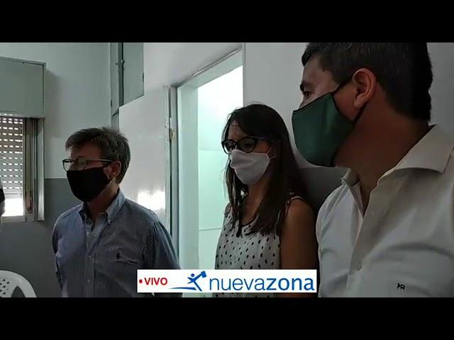 Provincia recorre obras en el Hospital vialense
