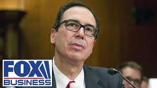 Mnuchin gives testimony in Senate regarding Trump's budget proposal