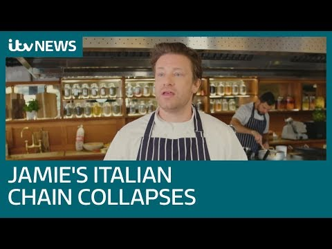 Jamie Oliver's UK Restaurant Empire Collapses | ITV News