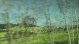 preview picture of video '2012 Euro Travel #11 - Czech Republic #05 - Bus ride from Prague to České Budějovice'