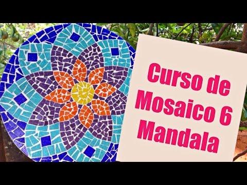 Mandalas de mosaico
