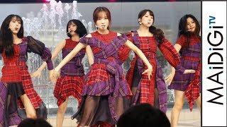 GFRIEND、日本初シングル曲披露に2000人が熱狂!「Memoria/夜」発売記念イベント1