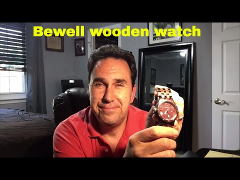 Amazon Cheap Watch Review 2017 bewell woodie