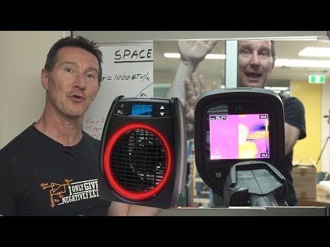 EEVblog #1187 - Room Heater Technology Explained