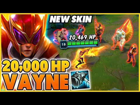 *20,000+ HP* THE NEW BEST ADC BUILD (UNKILLABLE) - BunnyFuFuu | League of Legends