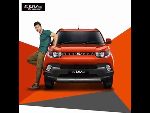 The New Mahindra KUV100 first look