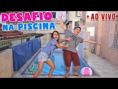 DESAFIO DA PISCINA! - AO VIVO! - KIDS FUN