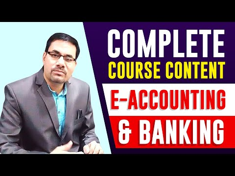 Complete Course Content of Diploma in E-Accounting & Banking ...