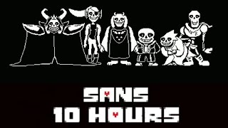 Undertale OST: sans 10 Hours HQ