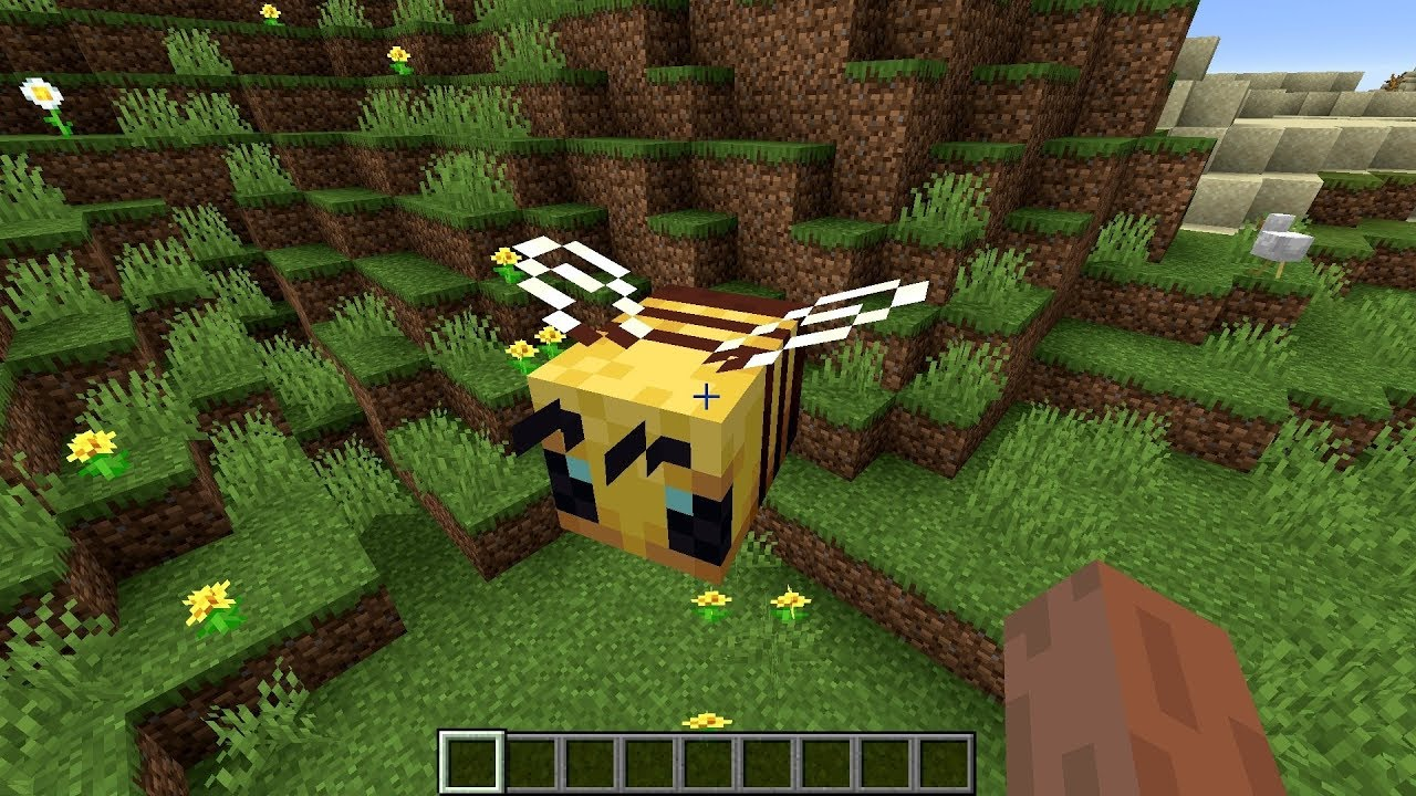 Minecraft 1.15 Seed bees at spawn near double village MINECRAFT SEED -460903226378252