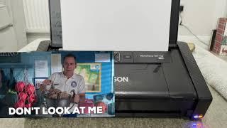 EPSON WF-110W mobile printer review. #Epson #Printers #Tech
