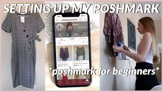 getting my poshmark account set up | POSHMARK FOR BEGINNERS 2020