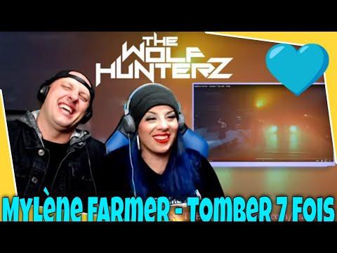 Mylène Farmer - Tomber 7 Fois   THE WOLF HUNTERZ Reactions