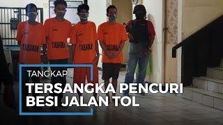 Komplotan Pencuri Besi Proyek Jalan Tol di Bekasi Diringkus Polisi