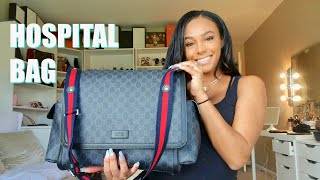 WHATS IN MY HOSPITAL BAG | BIRTH PLAN | 37 WEEKS