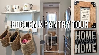 🐶Dog Den & Pantry Makeover Home Tour-Before & After!