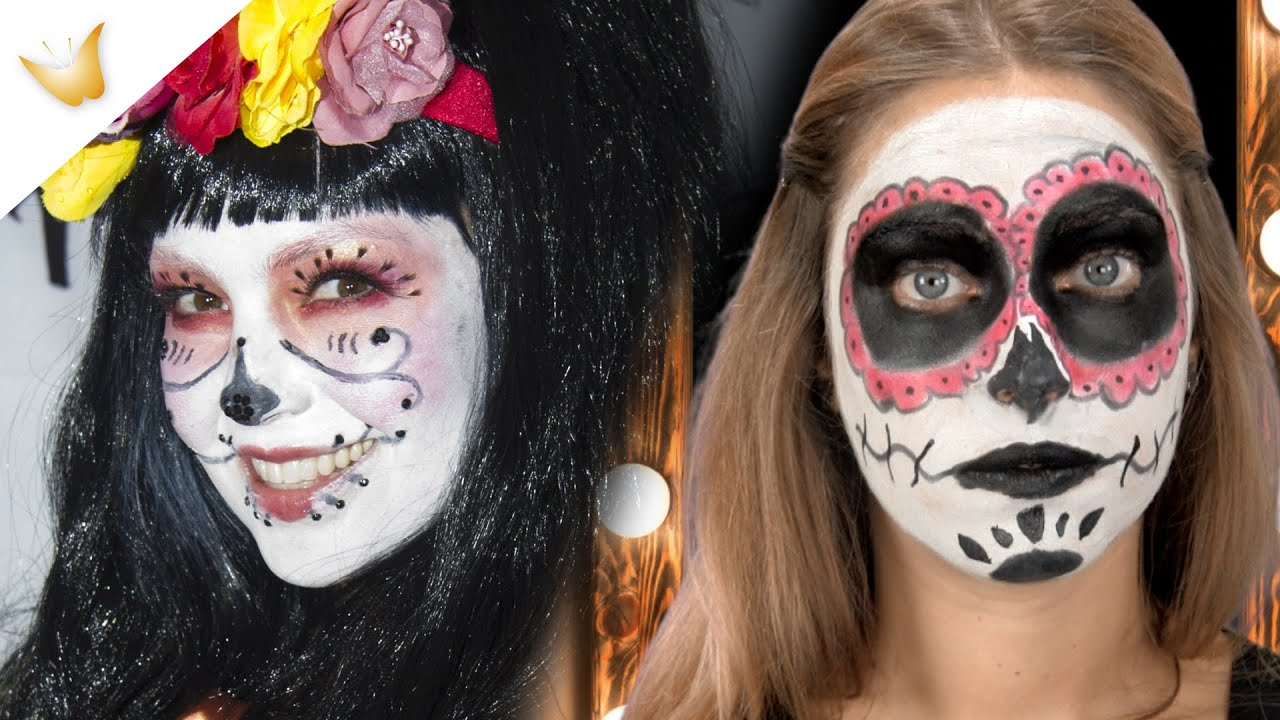 Maquillaje de Halloween | Consigue la catrina mexicana de Thalia