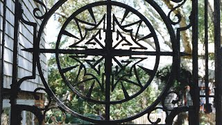 The Wrought-iron Gates - Greater Light On Nantucket