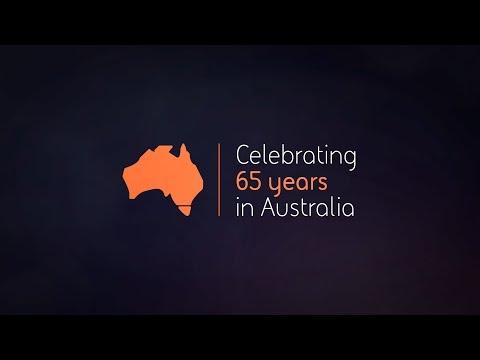 Celebrating 65 years in Australia