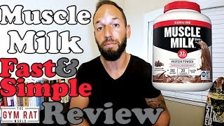 Muscle Milk   Most Popular Protein    Supplement Review