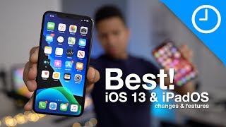 The BEST iOS 13 and iPadOS 13 features!
