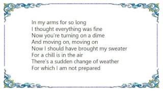 Garth Brooks - Snow in July Lyrics