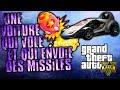GTA V ONLINE | WTF !!! Une voiture qui vole et qui envoie des missile