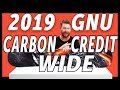 GNU Asym Carbon Credit Wide Snowboard - video 1