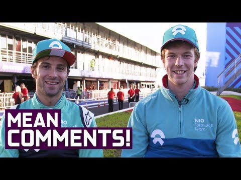 NIO Drivers React to Mean Comments! | Burning Up | ABB Formula E