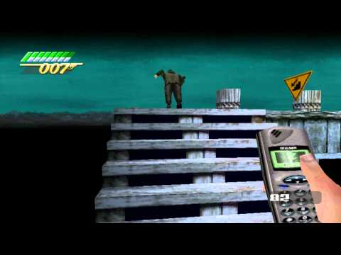 007: The World is Not Enough (PS1) - City of Walkways (007 Difficulty Hi-Score/Gold Gun)