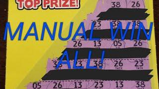 $20 SESSION! Huge WINNER! Manual Win All!!!