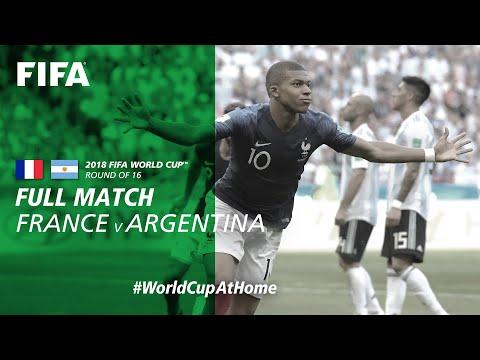 France v Argentina   2018 FIFA World Cup   Full Match