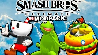 EVERY MEME IS HERE || Smash Bros 4 Ultimate Modpack