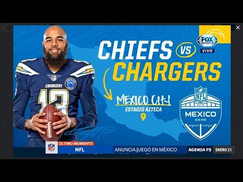 Chargers en el Estadio Azteca! video youtube Jan 21 180e8299d41