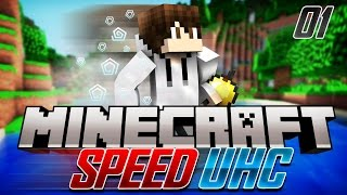 Minecraft Speed UHC: E1 - Last Second Save!