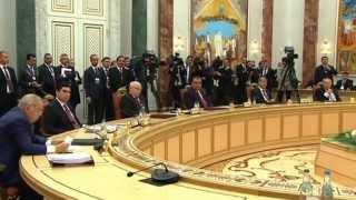 блестящая речь Ислама Каримова на заседании Совета глав государств СНГ 10.10.2014, Минск