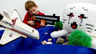 Секреты игры Майнкрафт - Как выбраться с острова мобов Minecraft?