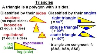 Geometry: Ch 3 - Names & Symbols (5 Of 8) Triangles