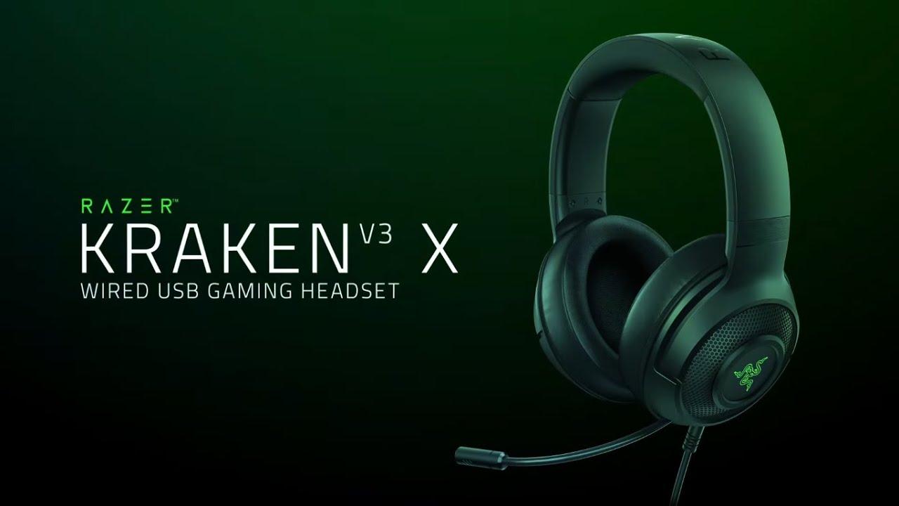 Игровая гарнитура Razer Kraken V3 X (RZ04-03750100-R3M1) video preview