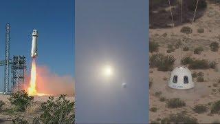 New Shepard High-Altitude Escape Motor Test
