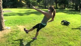 BodyRipped TRX Workout - WOD Round 1