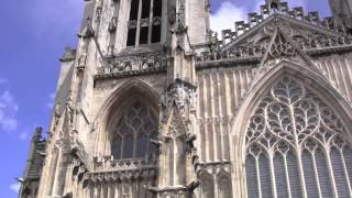 preview picture of video 'Views Around the City of York, North Yorkshire, England - 8th June, 2014'