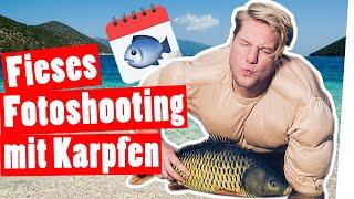 Bestrafung: Das grauenhafte Karpfenkalender Foto-Shooting || Das schaffst du nie!