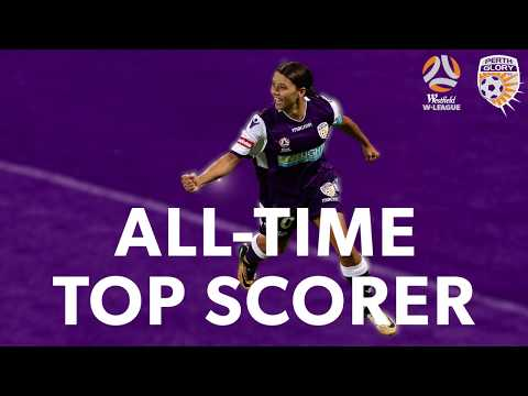 Sam Kerr becomes the Westfield W-League's all-time leading goalscorer