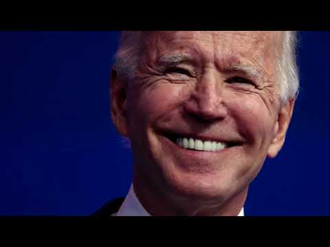 'Nothing's going to stop' transition says Biden